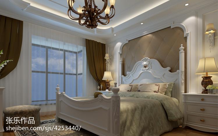 热门144平米四居卧室欧式效果图片欣赏