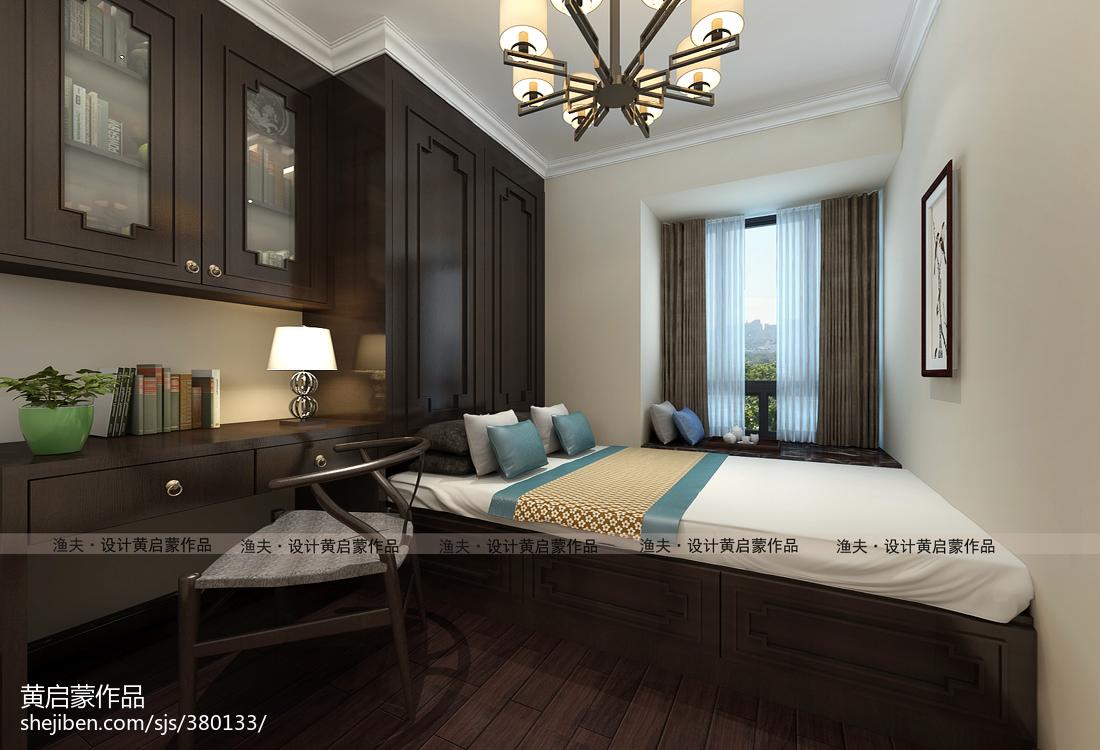 中式卧室装修图设计