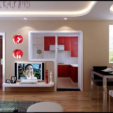 2018精选86平米现代小户型厨房装修设计效果图