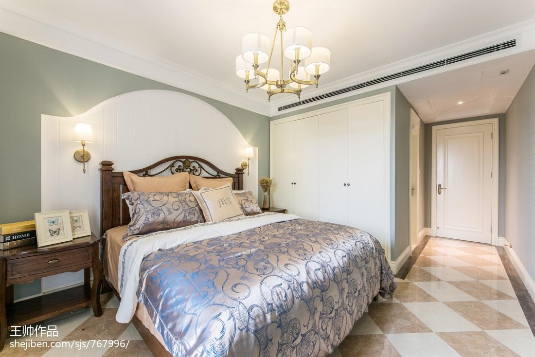 精选125平米四居卧室欧式实景图