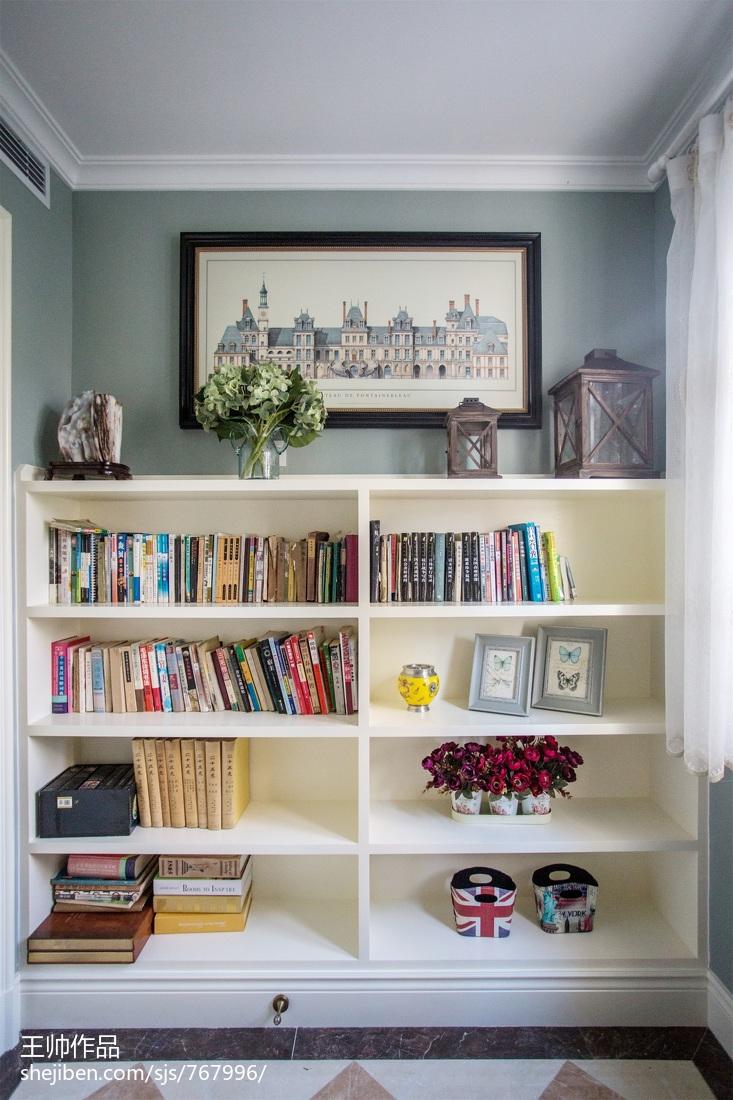 优美149平欧式四居书房装修图片