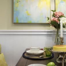 简洁88平混搭三居餐厅设计美图