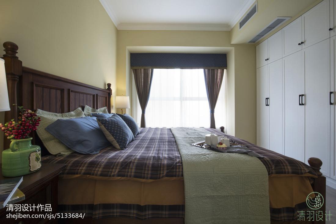 精选面积90平混搭三居卧室效果图片大全