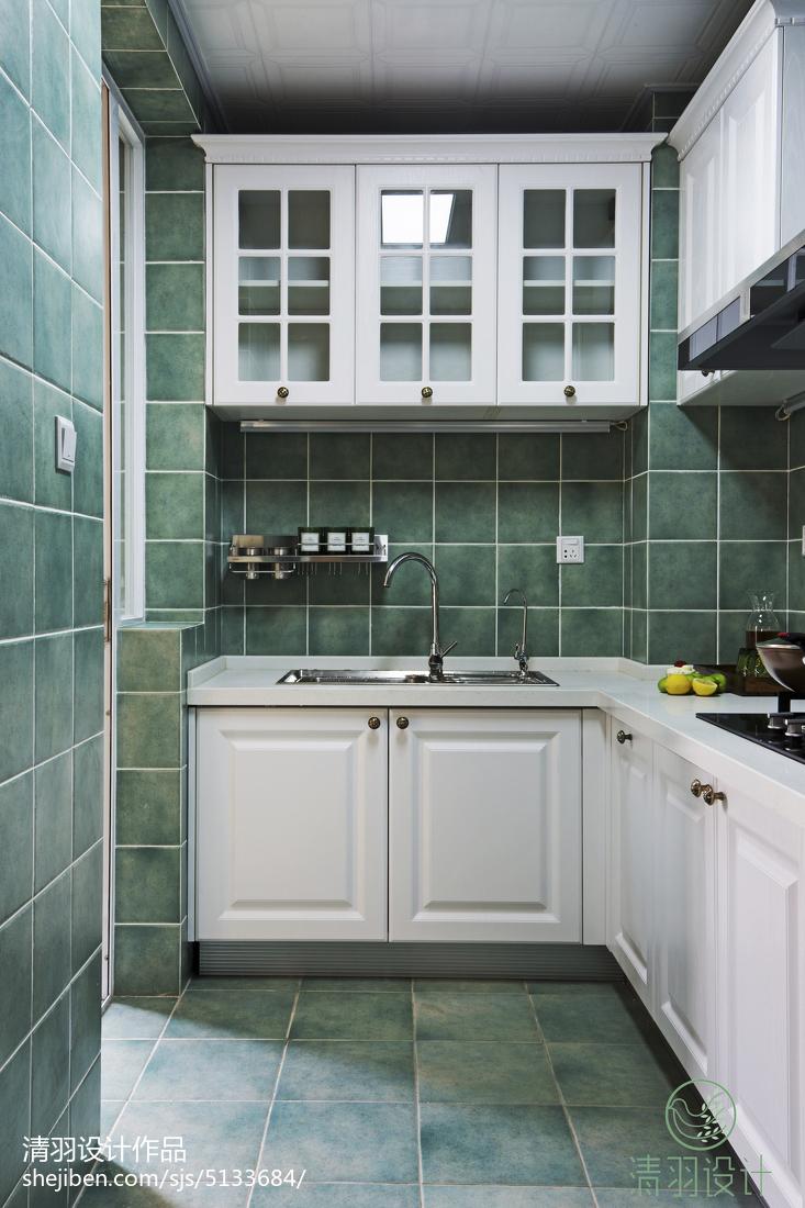 面积103平混搭三居厨房装修设计效果图片