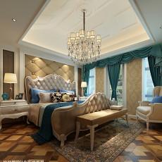 2018欧式复式卧室装修效果图片大全