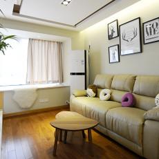 精美现代客厅三居装修图片大全