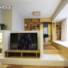 精选面积109平现代三居客厅装饰图