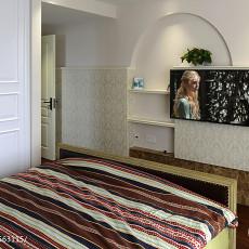 热门133平方四居卧室美式装饰图片欣赏