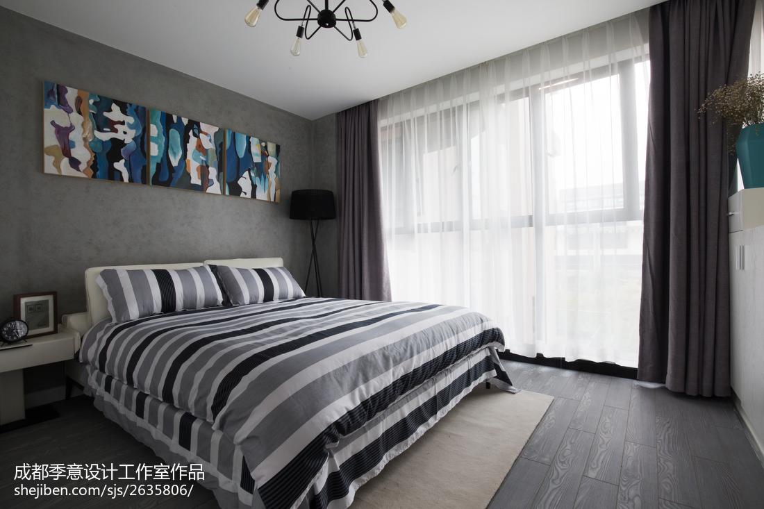 精选面积124平复式卧室现代效果图片大全