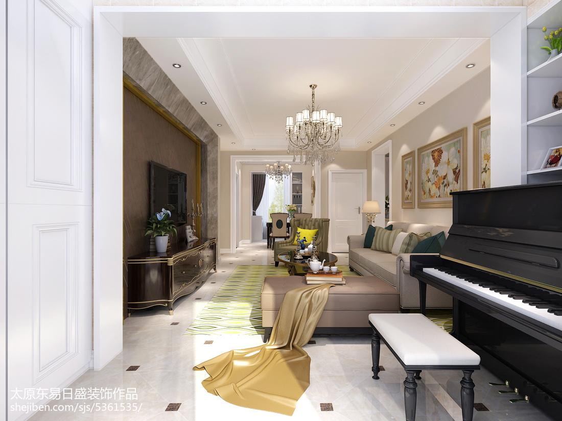 201896平米三居客厅欧式装修图