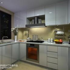 面积90平现代三居厨房设计效果图