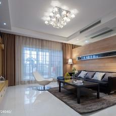 2018精选108平方三居客厅现代效果图