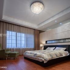 91平米三居卧室现代装修图片大全
