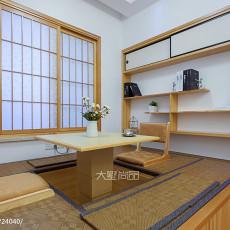 201892平米三居卧室现代效果图片