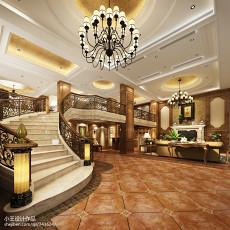 热门复式客厅美式实景图片大全