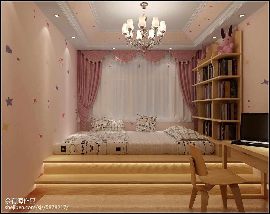 欧式时尚儿童房装修