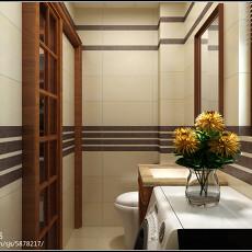 复式卫生间欧式装修欣赏图