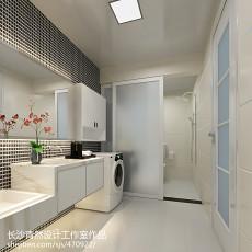 精选96平米三居卫生间现代装修设计效果图片欣赏