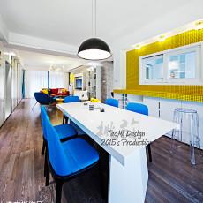 精美97平方三居餐厅现代效果图片大全