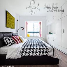 精美大小100平现代三居卧室装修效果图片大全