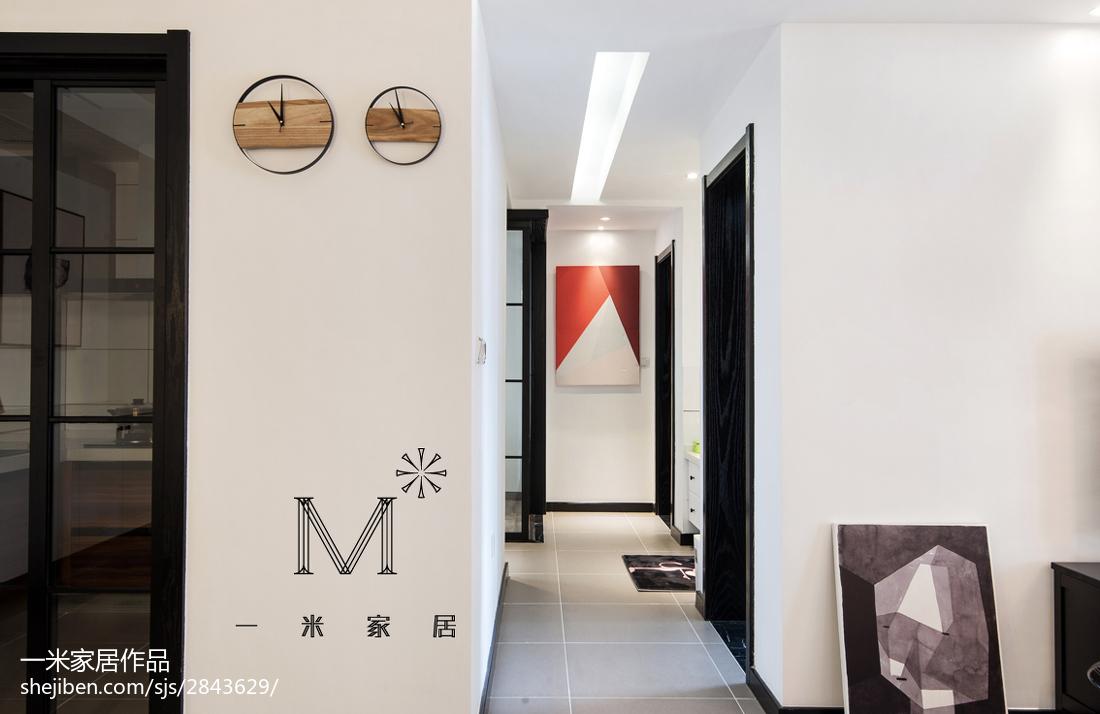 精选100平客厅三居现代装饰图