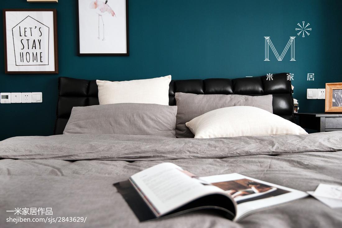 201891平米三居卧室现代装修实景图片欣赏