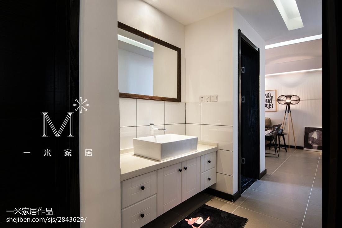 精致78平现代三居装修装饰图