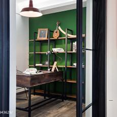 精美100平米三居书房现代效果图片