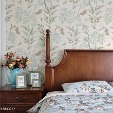 热门美式三居卧室欣赏图片大全