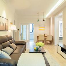 201881平米二居客厅现代装饰图片