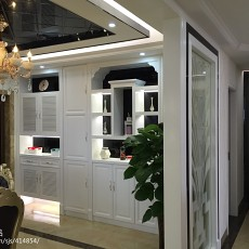 热门105平米三居餐厅欧式欣赏图片大全