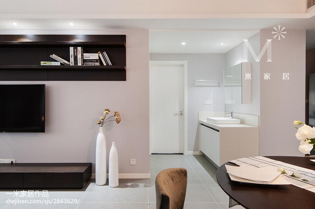 精选大小100平现代三居客厅欣赏图