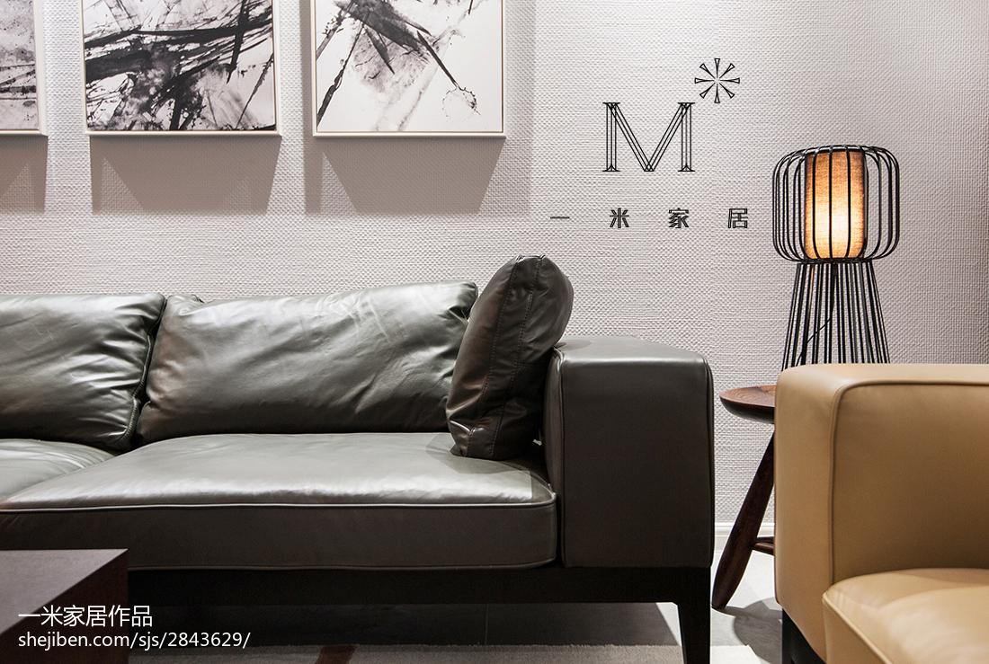 精美91平方三居客厅现代装修图片大全