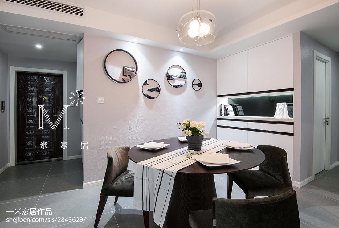 精选97平米三居餐厅现代装修图片欣赏