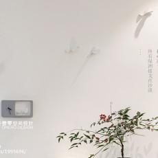 热门面积100平现代三居客厅装修效果图片