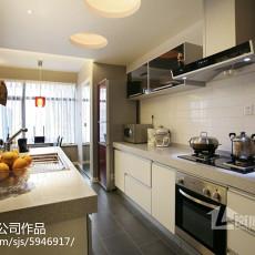 精选三居厨房现代装修设计效果图片
