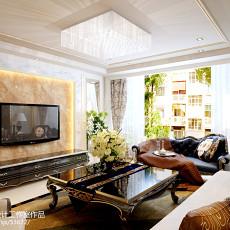 热门98平方三居客厅欧式装修设计效果图片大全