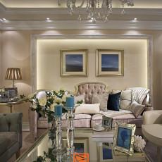美式客厅组合电视柜装修效果图