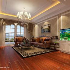 精选面积101平欧式三居客厅装修欣赏图片大全