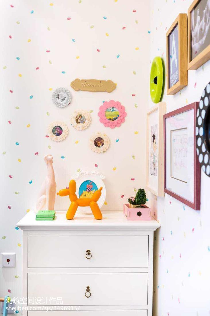 儿童房柜子设计图