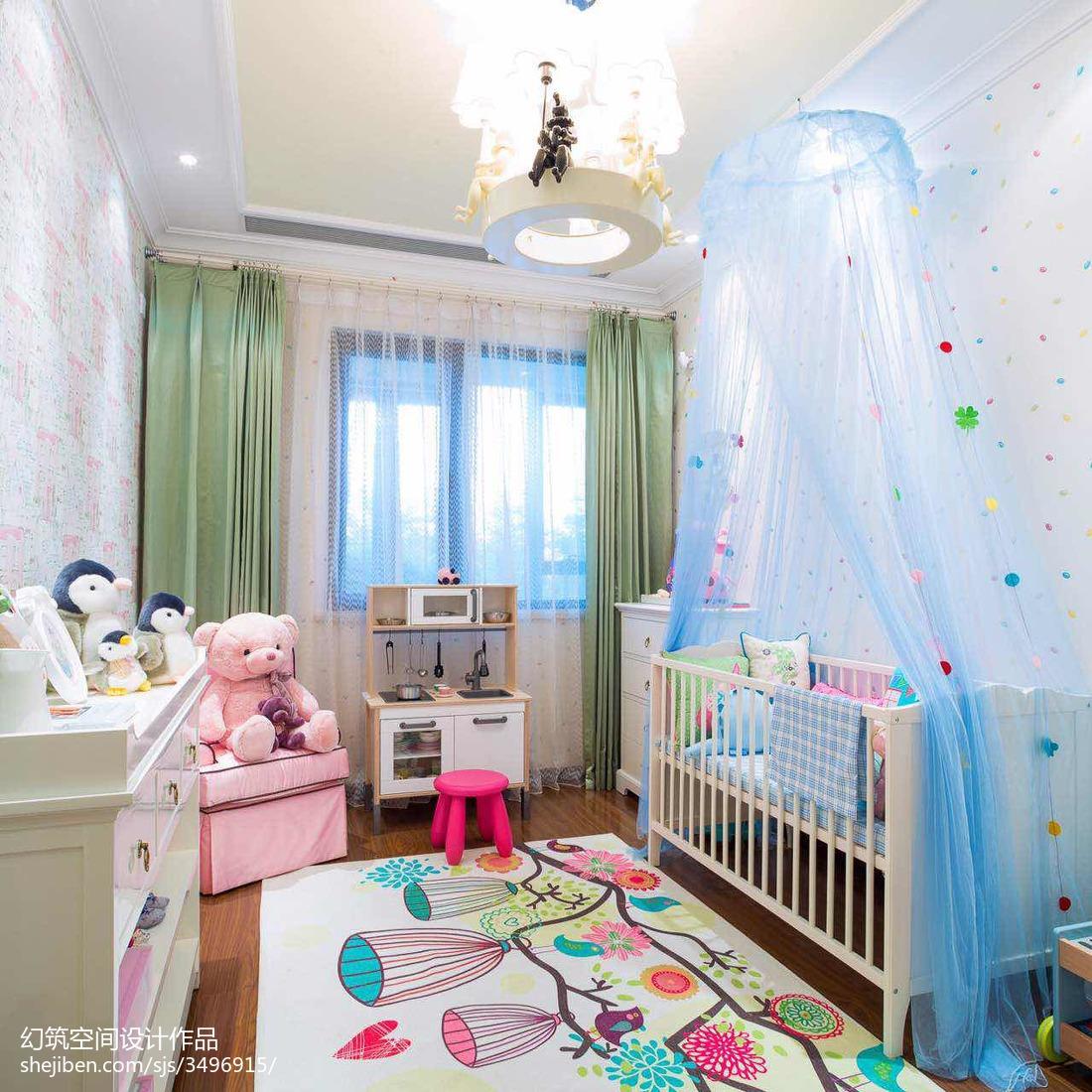 女儿童房窗帘