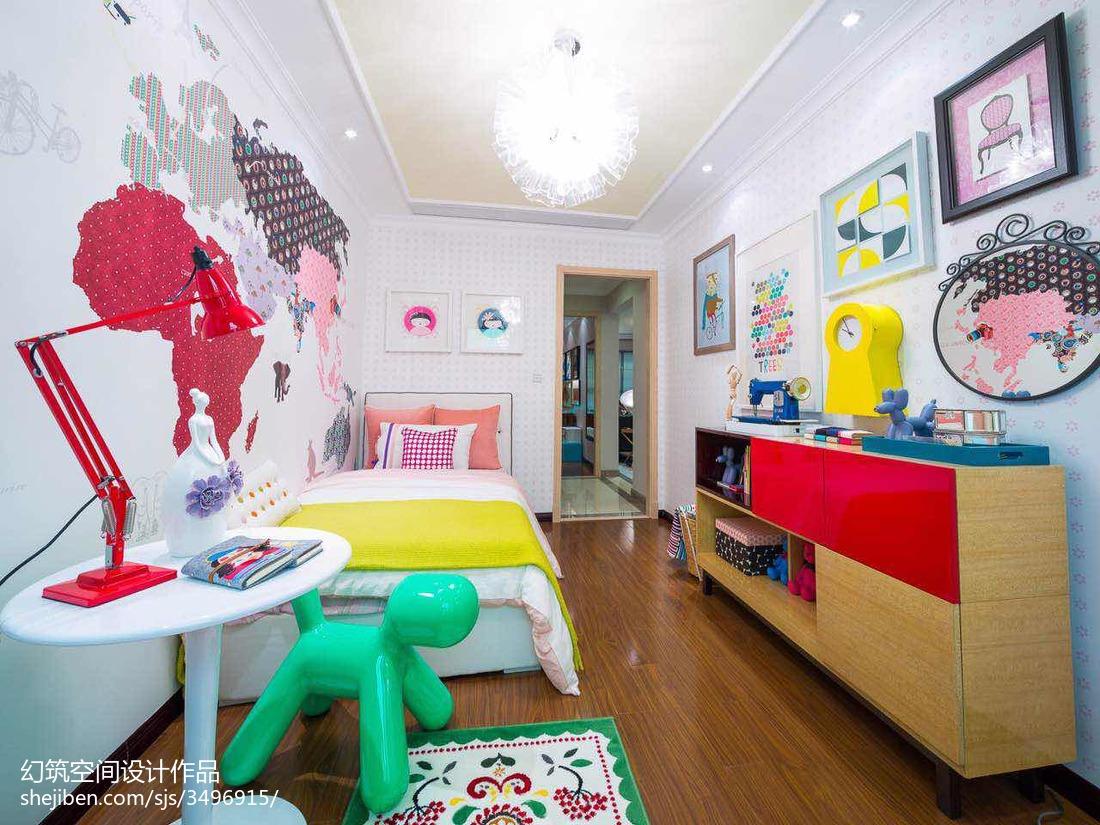 儿童房家具组合