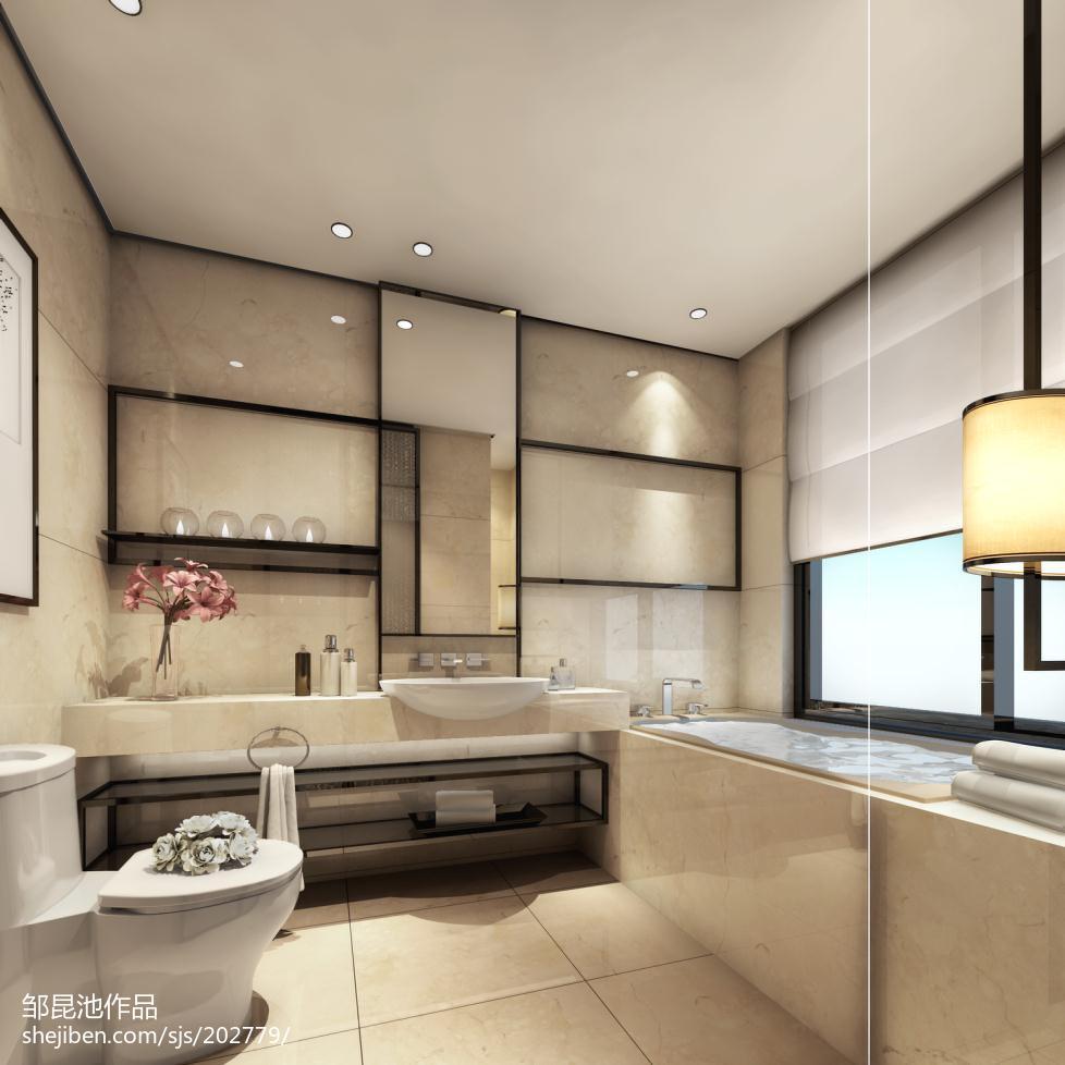 精选卫生间中式设计效果图