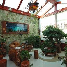 热门面积141平别墅花园欧式装饰图片