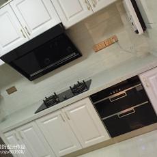 热门93平米三居厨房现代装饰图