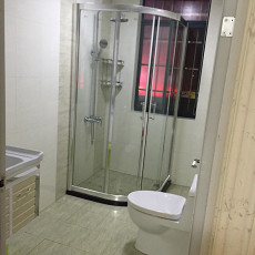 105平方三居卫生间现代装修实景图片大全