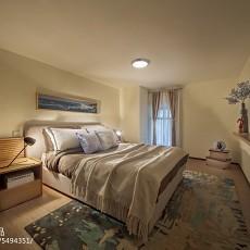 卧室欧式实景图