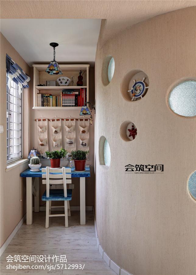 精美面积112平复式儿童房地中海装修设计效果图