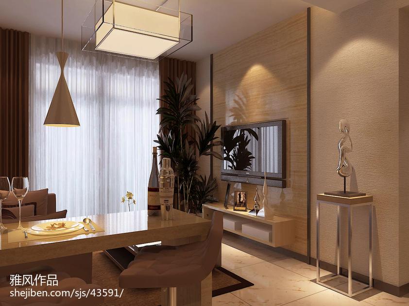 小清新混搭客厅装饰设计