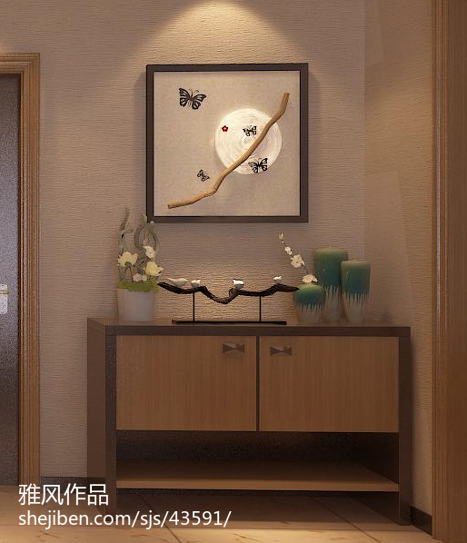 自然木质北欧风格卧室设计